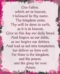 LORDS PRAYER IS NOT FOR US??j Believe this or not?