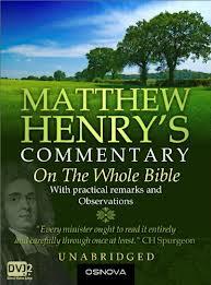 Forgiveness , Mathew Henry